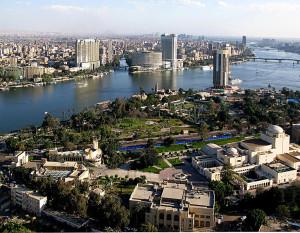 Blick vom Kairo-Tower (Bild: Wikipedia/Raduasandei).