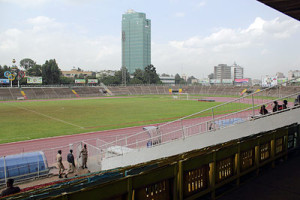 Das Hailé Sélassié Stadion in der äthiopischen Hauptstadt Addis Abeba (Bild: Wikipedia/Andreas Neukamm)