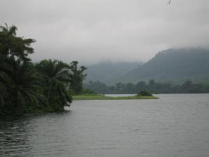 Der Volta-See in Gabun (Bild: Wikipedia/Jurgen)