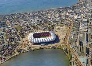 Das Nelson Mandela Stadion in Port Elizabeth (Foto: Wikipedia/Ngrund)
