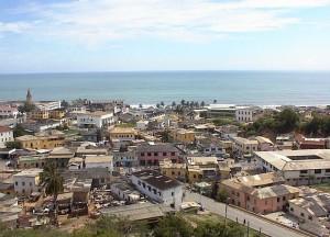 Cape Coast ist die achtgrösste Stadt Ghanas (Bild: Wikipedia/Dave Ley/CC-Lizenz).