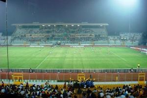 Fussball-Stadion in Kumasi, Ghana (Bild: Wikipedia/Michael Schubert).