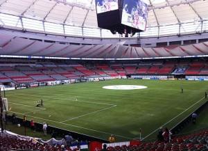 Das BC Place Stadium in Vancouver ist einer der Schauplätze der Fussball-WM der Frauen (Bild: Wikipedia/One95).