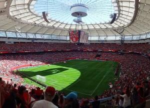 Der BC Place, einer der Austragungsorte der Fussball-WM der Frauen in Kanada (Bild: Wikipedia/Matt Boulton).
