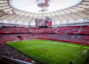 Der BC Place Stadion in Vancouver (Bild: Wikipedia/GoToVan).