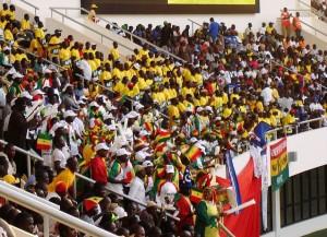 Senegalesische Fans (Wikipedia/kyselak).