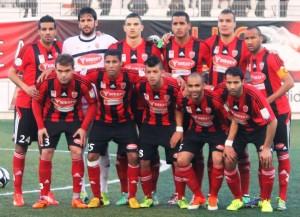 Das Team von USM Alger (Bild: Wikipedia/Aziouez).