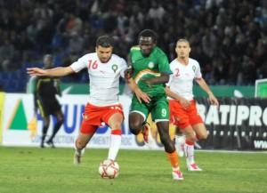Marokko, hier in einem Spiel gegen Niger, wartet auf eine spannende WM-Quali (Wikipedia/Mustapha Ennaimi).