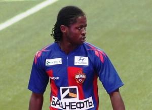 Liberias Sekou Oliseh, hier Dress von ZSKA Moskau (Bild: Wikipedia/Amarhgil).