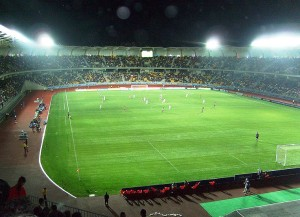 Das Estadio Francisco Sánchez Rumoroso (Wikipedia/dbravosilva).