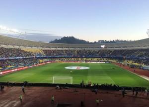 Im Estadio Municipal de Concepion wird ein Teil der WM-Spiele ausgetragen (Bild: Wikipedia/Daniblue21).