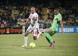 Algerien (rechts) in einem Spiel gegen Tunesien (Bild: Wikipedia/Magharebia).