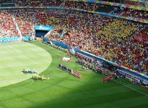 Das Estádio Nacional Mané Garrincha in Brasilien (Bild: Wikipedia/Mariordo).