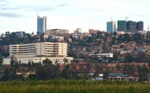 Blick auf Ruandas Hauptstadt Kigali (Bild: Lemurbaby).